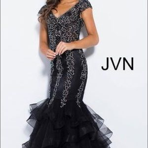 JVN By Jovani Mermaid Dress